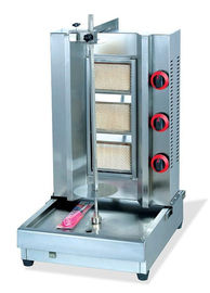 China Keukenbbq Shawarma Kebabmachine 530 * de 630 * 800 HEREN LPG Gas 13 KW leverancier